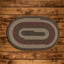 Brook Farm Natural Earth Braided Area Rug By Colonial Mills. Many Sizes