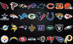 Nfl Fathead Style Wall Decals 24