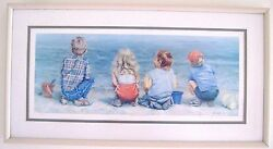 Lucelle Raad Water's Edge Signed Framed Limited Edition Print 318/900