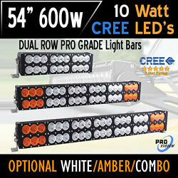 54 600w Led Bar Light - Cree Dual Row - The Most Advanced In The World Today