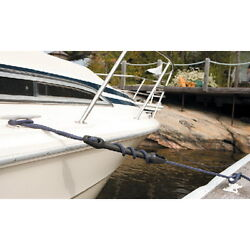 5/8 And 3/4 Inch Dock Line Mooring Snubber For Boats Up To 40 Ft Protects Hardware