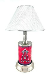Mlb Official Metal License Plate Table / Desk Lamp Best Gift Exclusive