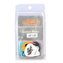 120pcs Clamshell Pack Constellation Celluloid Acoustic Electric Guitar Picks