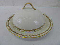 Vintage Limoges Theodore Haviland France China Covered Cheese Butter Dish