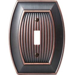 Oil Rubbed Bronze Amerock Wall Plate Cover Toggle Rocker Plug Allison Collection