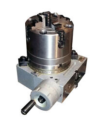 4 Adapter 4 Jaw Chuck And 4 Rotary Table Table Included