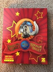micro trains z scale ringling bros barnum