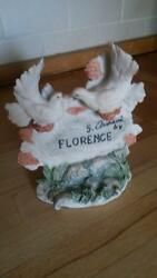 a capodimonte florence two doves signed g