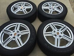 19 New Oem Original Factory Made In Germany Porsche Cayenne Turbo Wheels Tires.