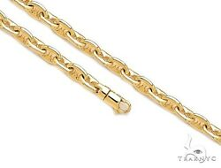 Mens Gold Chain 30inches 8.5mm Gucci Necklace Link 14k Yellow 116.50 grams
