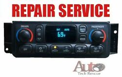 97 98 99 00 01 02 03 04 Corvette Digital Heater & AC Climate Control REPAIR