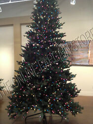Frontgate Christmas Xmas Holiday Royal Spruce Pro Shape 10and039 Foot Tree Pe Tips
