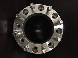 1 X 2 Inch Thick Skid Steer Wheel Spacer 8x8 5/8 Studs /lug Nuts Cat 2