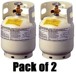 2 Manchester 10054.3 5 Lb Steel Propane Tanks W Qcc1 Valve And Overfill Device