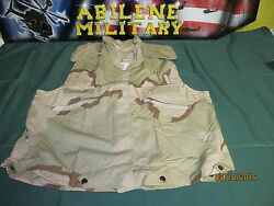Us Army Pasgt Flack Vest Cover Dcu 3 Color Desert Camo Small Medium Fishing New