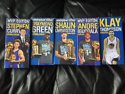 Golden State Warriors Bobble Head Collection Plus Many Extras