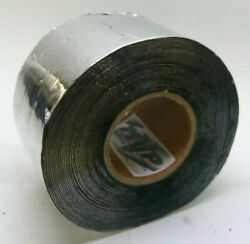 Mvp Aluminum Foil Tape With Butyl Rubber Backing 4 X 50' Roll - 50 Mil Thick
