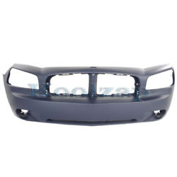 New 06-10 Charger Front Bumper Cover Assembly Primed Plastic Ch1000461 4806179ae