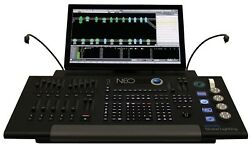 Strand NEO Lighting Control Console - 100 Universes Motorized Faders