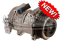 A/c Compressor W/clutch For Sanden 4314 4615 - New