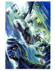 Planet Of The Apes Alex Ross Comic Book Cover Flood Fine Art Giclée On Paper