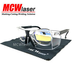 2x Co2 Laser Safty Protective Goggles Glasses 10600nm 10.6um Engraving Cutting