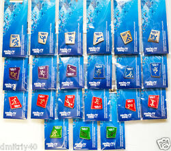 Sochi 2014 Winter Olympics Full Collection Of Pins 168 Pins Total