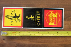 OSPREY Backpacks 3 STICKER Decal New 40 Years Vintage $3.47