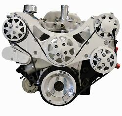 Billet Serpentine Kit - Big Block Chevy - Polished - W/ac And No Ps