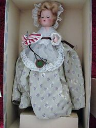 Vintage Aandh Doll Corp.new York 1953-54 Betsy Ross Doll In Box