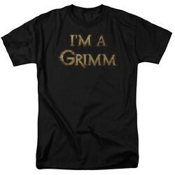 Grimm Tv Show I'm A Grimm Licensed Tee Shirt Adult Sizes S-3xl