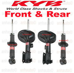 Set Of 4 Kyb Excel-g Front And Rear Shocks/struts For Mitsubishi Galant