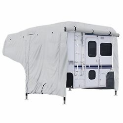 Permapro Premium Truck Rv Camper Cover Fits 8 And039- 10and039 Length - Grey