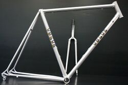 Brandnew Finest Vogue Road Bike Steel Frame Fork 54s Made In Japan Free Shipping