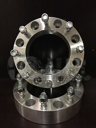 Ford F250 F350 1.5 Wheel Spacers 8x170 Adapters For Heavy Duty Trucks 8 Lug Pair
