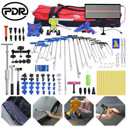 115andtimes Pdr Tools Push Rods Dent Lifter Puller Paintless Hail Repair Auto Body Set