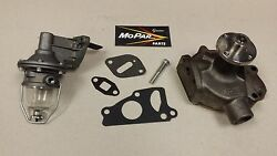 46 47 48 49 50 51 52 53 54 Fuel Pump And Water Pump Plymouth Chrysler Desoto Dodge