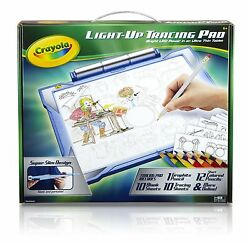 Crayola Light-up Tracing Pad Blue Art Tool Bright Leds Easy Tracing With...