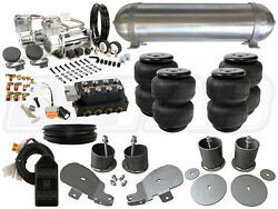 Complete Air Ride Suspension Kit - 1965-1970 Chevy Impala 3/8 Level 3 - Bcfab