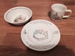 Vintage Peter Cottontail Dishes