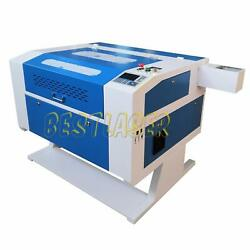 Electric 80w Co2 Laser Engraver And Laser Cutter 700mm500mm Cw-3000 Chiller