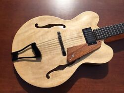 Archtop Guitar New 2016 Brian Neville Custom Archtop