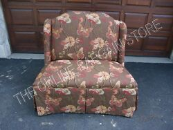 Frontgate Custom Sofa Bench Loveseat Settee End Of Bed Butterfly Tailored New