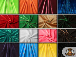 Stretch VELVET Fabrics 58quot; Wide Sold by the yard