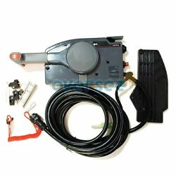 Remote Control Box With 10 Pin Cable 703-48205-16 For Yamaha Outboard Motor