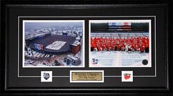 Detroit Red Wings 2014 Winter Classic 2 Photo Nhl Hockey Collector Frame