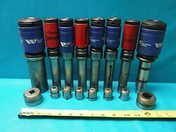 Used 8 Punch Die Sets Amada And Wilson Tool