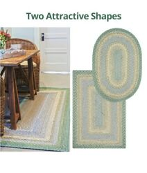 Baja Blue Braided Area Rug By Homespice Decor. Choose Your Shape And Size