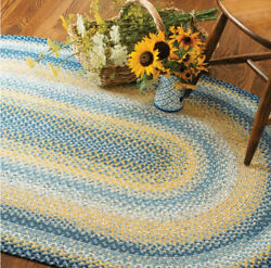 Sunflowers Braided Area Rug By Homespice Decor. Choose Your Shape And Size