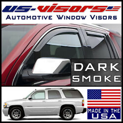 Us-visors 2000-2006 Chevy Tahoe Gmc Yukon Window Vent Visors In-channel 4-pieces